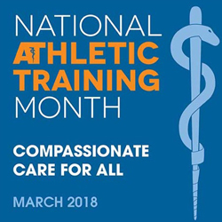 March National Athletic Trainers Month